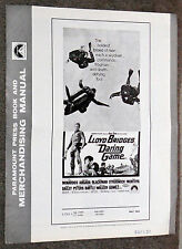 SKY DIVING/SCUBA DIVING original 1968 movie pressbook LLOYD BRIDGES/IVAN TORS