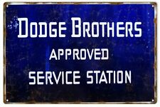 Reproduction Dodge Brothers Service Station Metal Sign