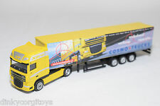 DAF XF TRUCK WITH TANKTRAILER COSMO TRUCKS YELLOW EXCELLENT CONDITION