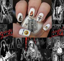 Guns N' Roses Rock Band Nail Art Waterslide Decals  GNR