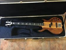 KRAMER DMZ6000B Electric Bass Guitar Active Aluminum Neck USA w/ Case WOW