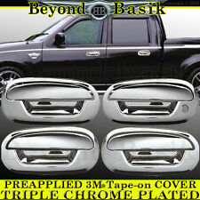 2001 2002 2003 Ford F150 Supercrew Chrome Door Handle COVERS Trims W/o Keypad/PK