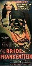 THE BRIDE OF FRANKENSTEIN (DVD) HORROR 1935 KARLOFF ELSA LANCHESTER