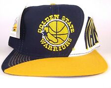 Vtg NBA Golden State Warriors Stephen Curry Twill SF basketball snapback hat cap