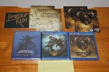 Oddworld Stranger's Wrath Triple Pack (Vita) NEW SEALED MINT W/MAPS+CARD+STICKER