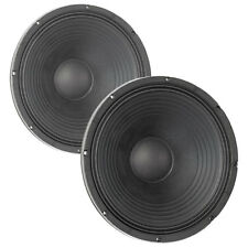 """Pair Eminence Kappalite 3015 15"""" Neo Woofer 8ohm 100.8dB 3VC Replacemnt Speaker"""