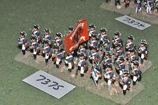 25mm seven years war prussian musketeers 30 figures (7375) painted metal