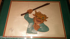 "FANTASTIC 1973 DISNEY ""ROBIN HOOD"" PRODUCTION CEL! AWESOME IMAGE EX CONDTION"