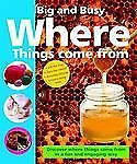 Big and Busy Where Things Come From Priddy, Roger Board book