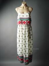 Ornate Moroccan Tapestry Pattern Beach Resort Long Maxi Cover Up 92 ac Dress 1XL