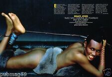 Coupure de Presse Clipping 1988 (2 pages) Grace Jones
