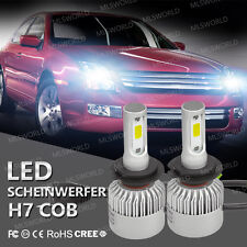 Pair 160W Cree H7 LED Lampade A Auto Fari Lampadine Headlight Kit 16000LM 6500K