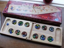 Mancala - Deluxe Solid Wood Folding Board Game Set pressman 1997