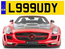 L999 UDY LORD LORDY LORDIE LORDS LOUDON LOWDEN LOUDONS PRIVATE NUMBER PLATE JAG