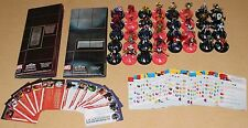 Heroclix Marvel Civil War Storyline OP Complete CUR Set Lot Maps Bounty Cards