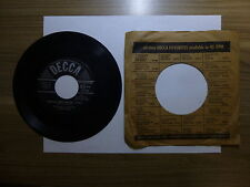 Old 45 RPM Record - Decca 9-28414 - Frankie Froba - Herman Kept Playin' Away / S