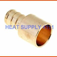 "(25) 3/8"" PEX x 1/2"" Male Sweat Adapters - Copper Fittings Adapter"