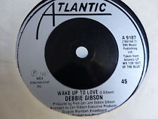 DEBBIE GIBSON Wake up to love / shake your love A9187