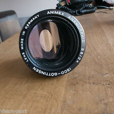 "+ Rare Isco Gottingen Animex S8/2x, a ""focus-through"" anamorphic anamorphot lens"