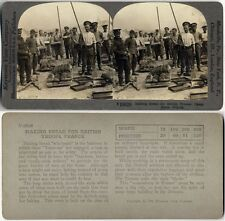 BREAD MAKING FOR THE TROOPS STEREOVIEW