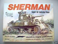 Waffen-Arsenal 45 mit Poster Shermann Gegner Panzer