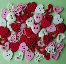 Love Potion-Corazones Día de San Valentín Boda Vestido de Navidad para arriba Craft Botones