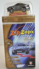 Zip Zaps Micro Remote Control SE Car Silver Aston Martin V12 - Collectible -NEW!