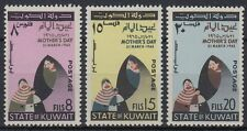 Kuwait 1965 ** mi.266/68 FESTA DELLA MAMMA MOTHER 'S DAY bambino child