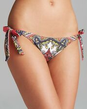 NEW BECCA Rebecca Virtue Marrakesh Tie sides Reversible Bikini Bottom Swim S