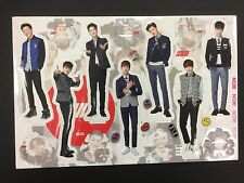 Kpop IKON K pop High Quality Official Photo Standing Paper Doll