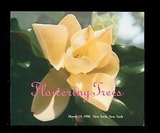USA #3193-7  1998 32c Flowering Trees Stamp First Day Ceremony Program