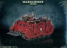 Warhammer 40K Chaos Space Marine Rhino New and Sealed