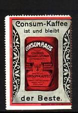 40132/ Reklamemarke - Engelhardt & Seelmann - Consum-Kaffee - Offenbach a. M.