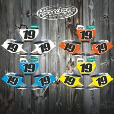 KTM SX 50 2016 Custom number plates