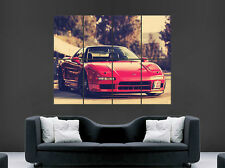 HONDA NSX ACURA RED CAR POSTER JAPAN CLASSIC MAGE PRINT RACING SPORT