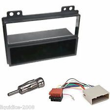FORD FUSION 2002 - 2005 BLACK SINGLE DIN FASCIA FACIA PANEL FITTING PACKAGE KIT
