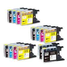 14 PK NEW Ink Cartridge for Series LC71 LC75 Brother MFC J280W J425W J430W J435W
