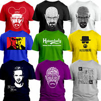 Heisenberg Breaking Bad/ Dexter Walt Walter White Meth Science Bitch new T Shirt