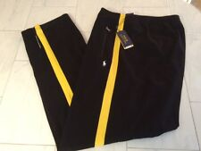 NWT POLO RALPH LAUREN PERFORMANCE SWEATPANTS TRACK BLACK PONY 4XLT TALL 4XL $125