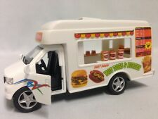 "Fast Food Truck 5"" Die Cast Pull Back and Go, Toys Boys and Girls"