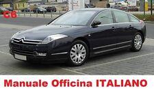 Citroen C6 (2005/2012) Manuale OFFICINA Riparazione ITALIANO