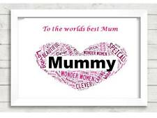 Personalised Mum Christmas present Gift Mummy Parent For Her xmas Mother Women