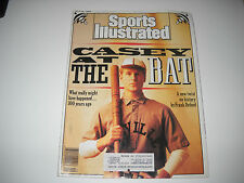 1988 Sports Illustrated- casey at Bat (100 years ago)