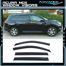 07-13 Acura MDX Window Visors Uv Resistant Guard Wind Deflector Shade 4Pcs