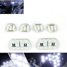 LED 5050 Interior lights lamp Bulbs Peugeot 206/307/408 Visor Dome 6000K