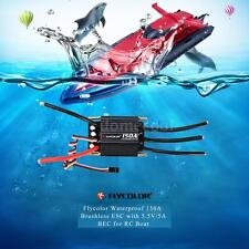 Flycolor Waterproof 150A Brushless ESC Electronic Controller w/ 5.5V/5A BEC B9H7