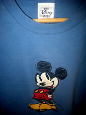 VTG SOFT COTTON MICKEY MOUSE CARTOON ARTIST DRAWING DISNEY STORE T-SHIRT-NICE-44