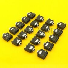20pcs 3.5mm Female 5 Pins Stereo Headset Interior PCB Mount Audio Jack Socket