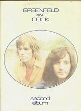 GREENFIELD AND COOK second album HOLLAND 1973 EX LP GATEFOLDSLEEVE