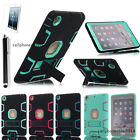 Heavy Duty Hybrid Shockproof Hard Case Cover Rubber Stand For iPad Mini 1/2/3/4